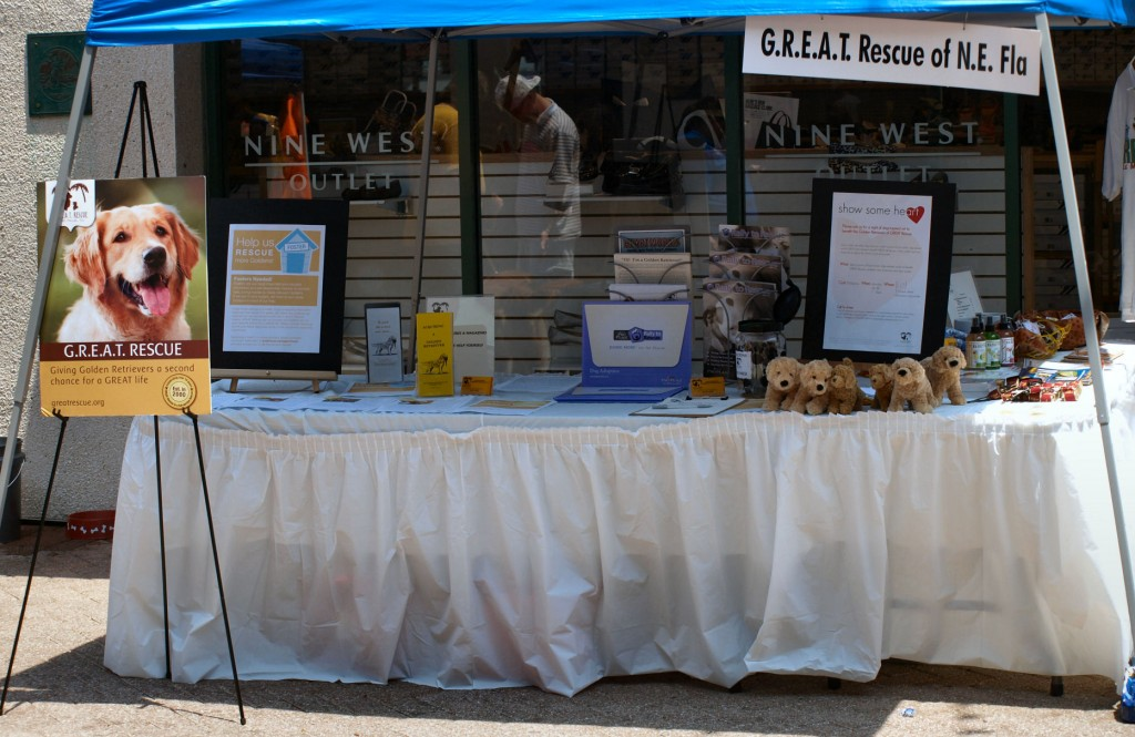 GREAT Booth at Trail of Tails 2011